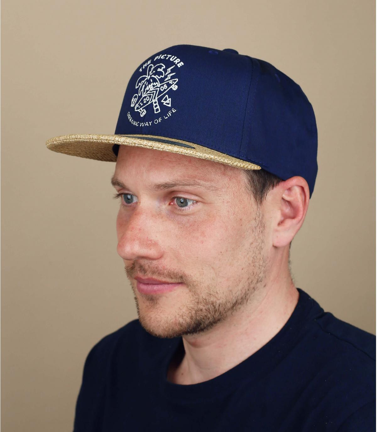 blue Picture snapback