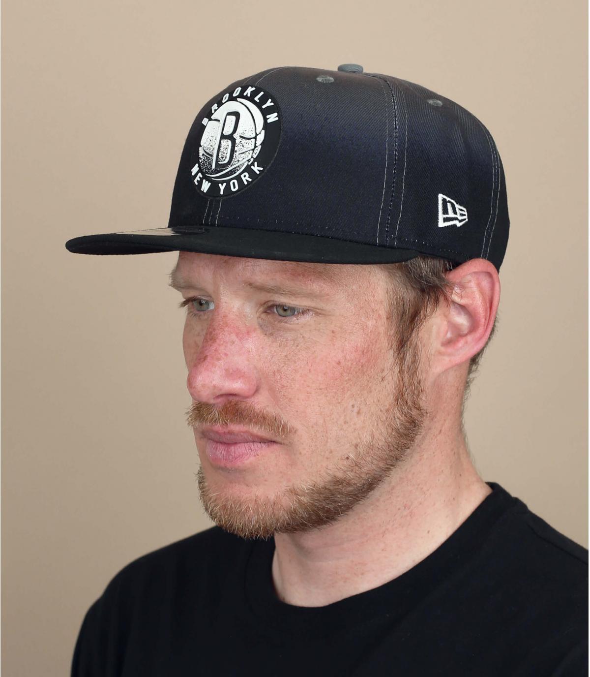 Brooklyn Nets black cap