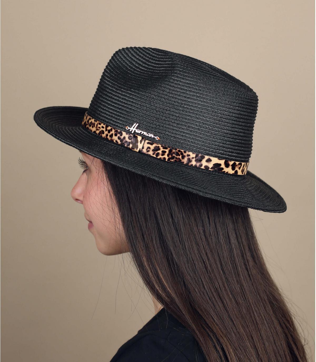 black straw hat panther