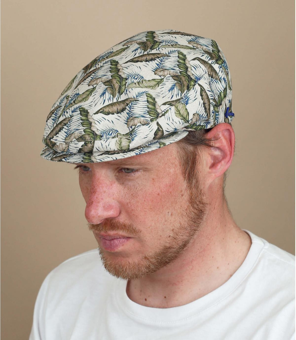flat cap linen