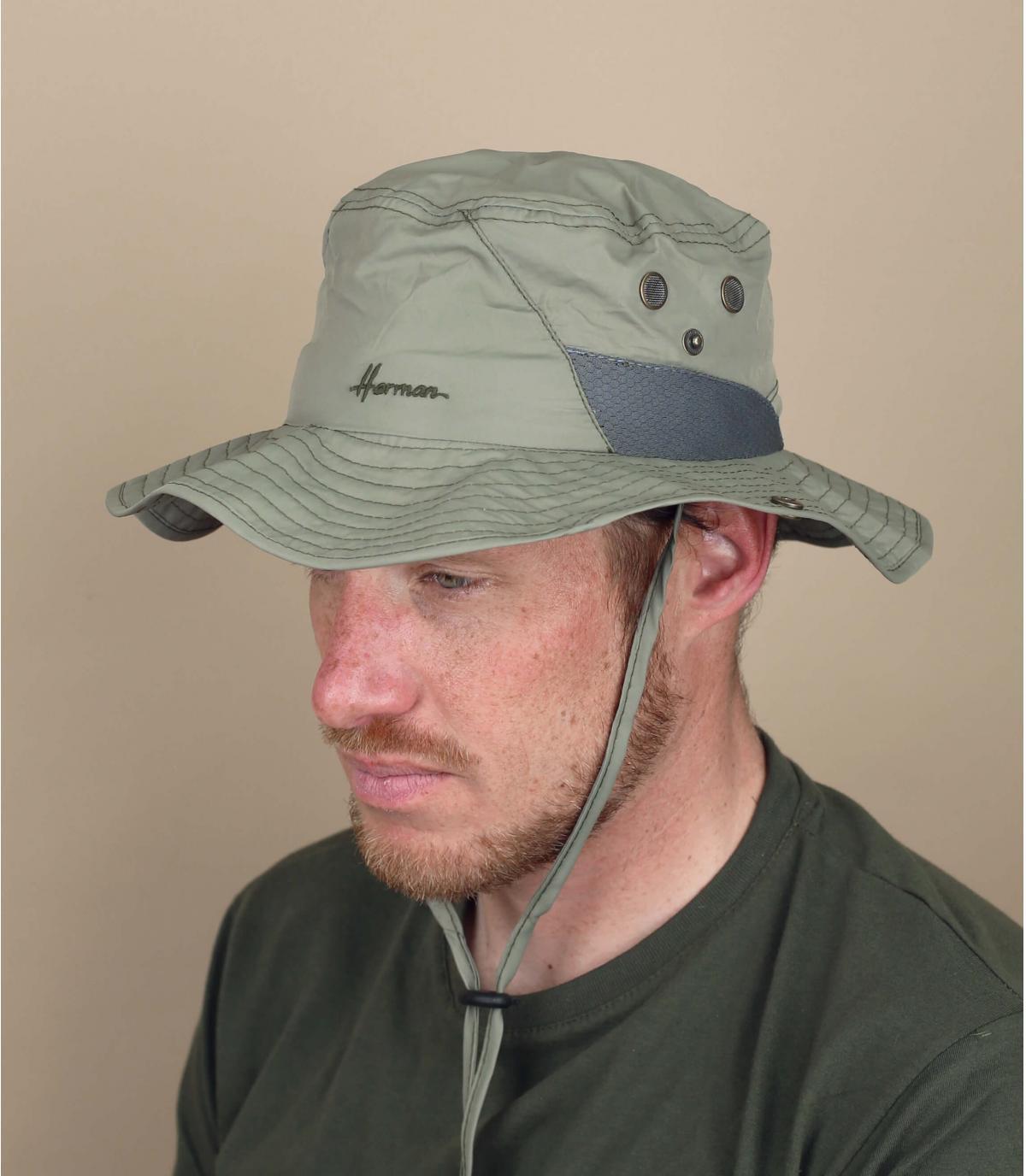 Green bucket hat Herman