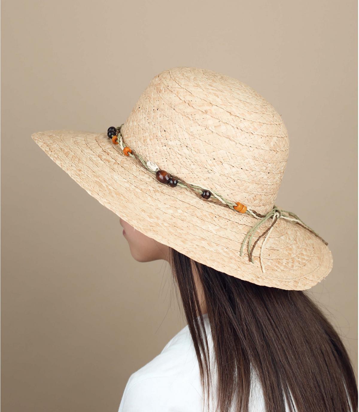 straw hat beads