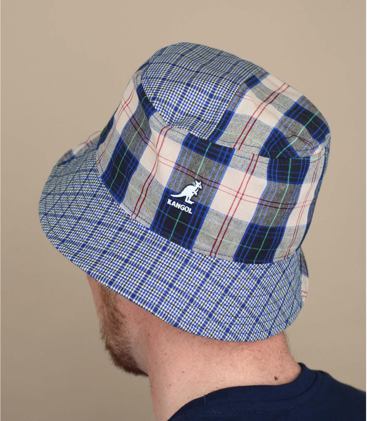 Kangol patchwork bucket hat