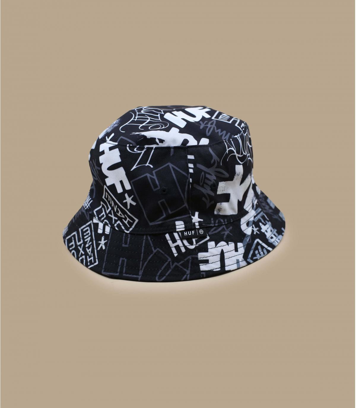 Black Huf bucket
