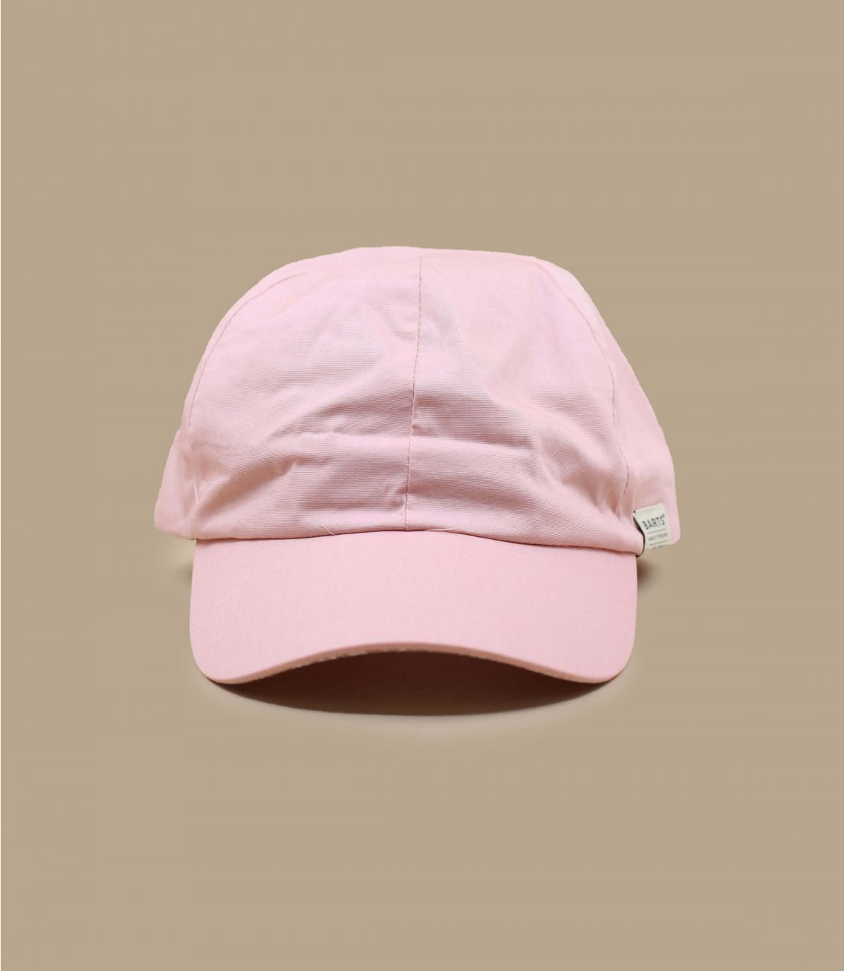 Pink cap women