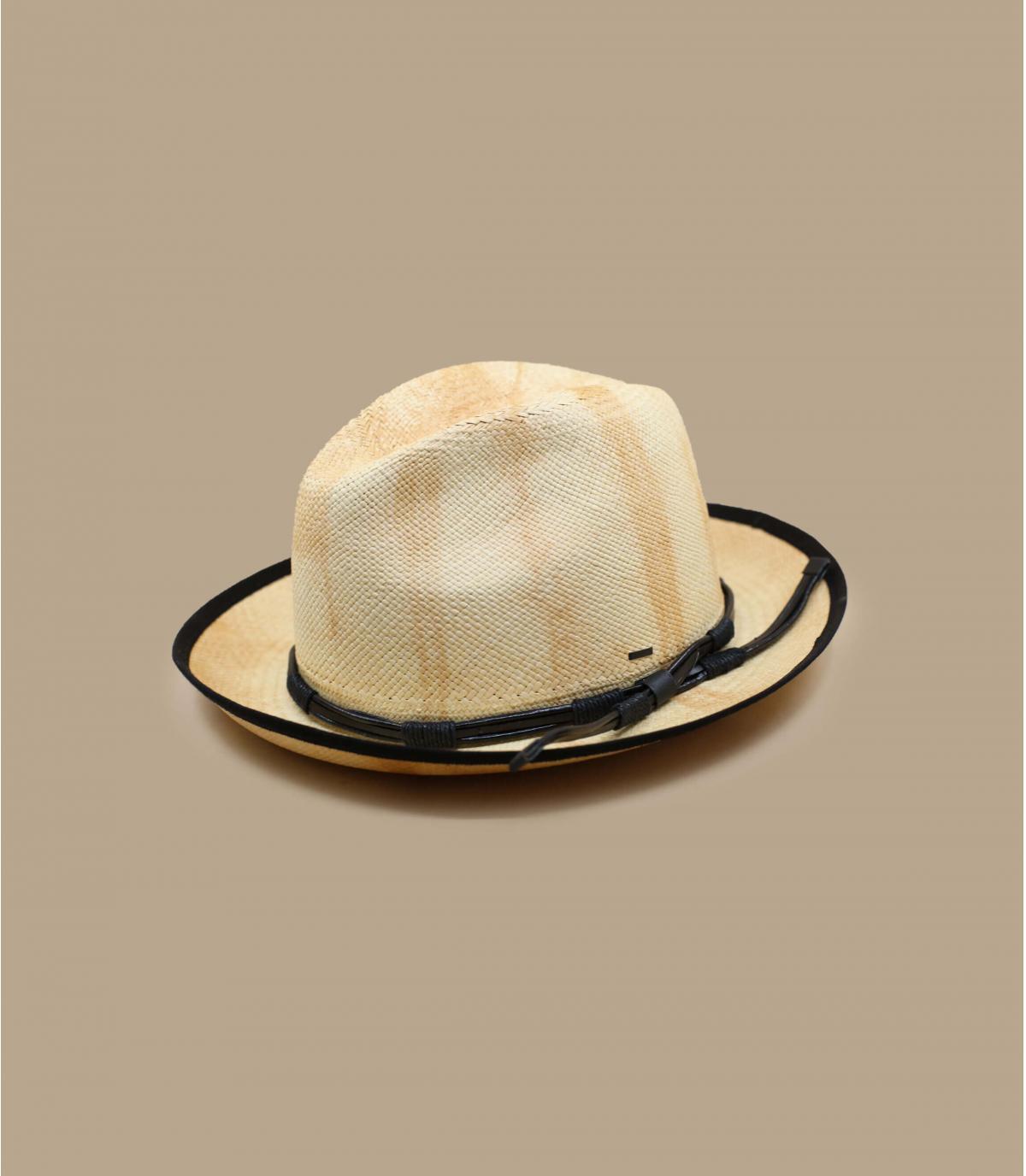 Détails Clafin Panama tea stain - image 2