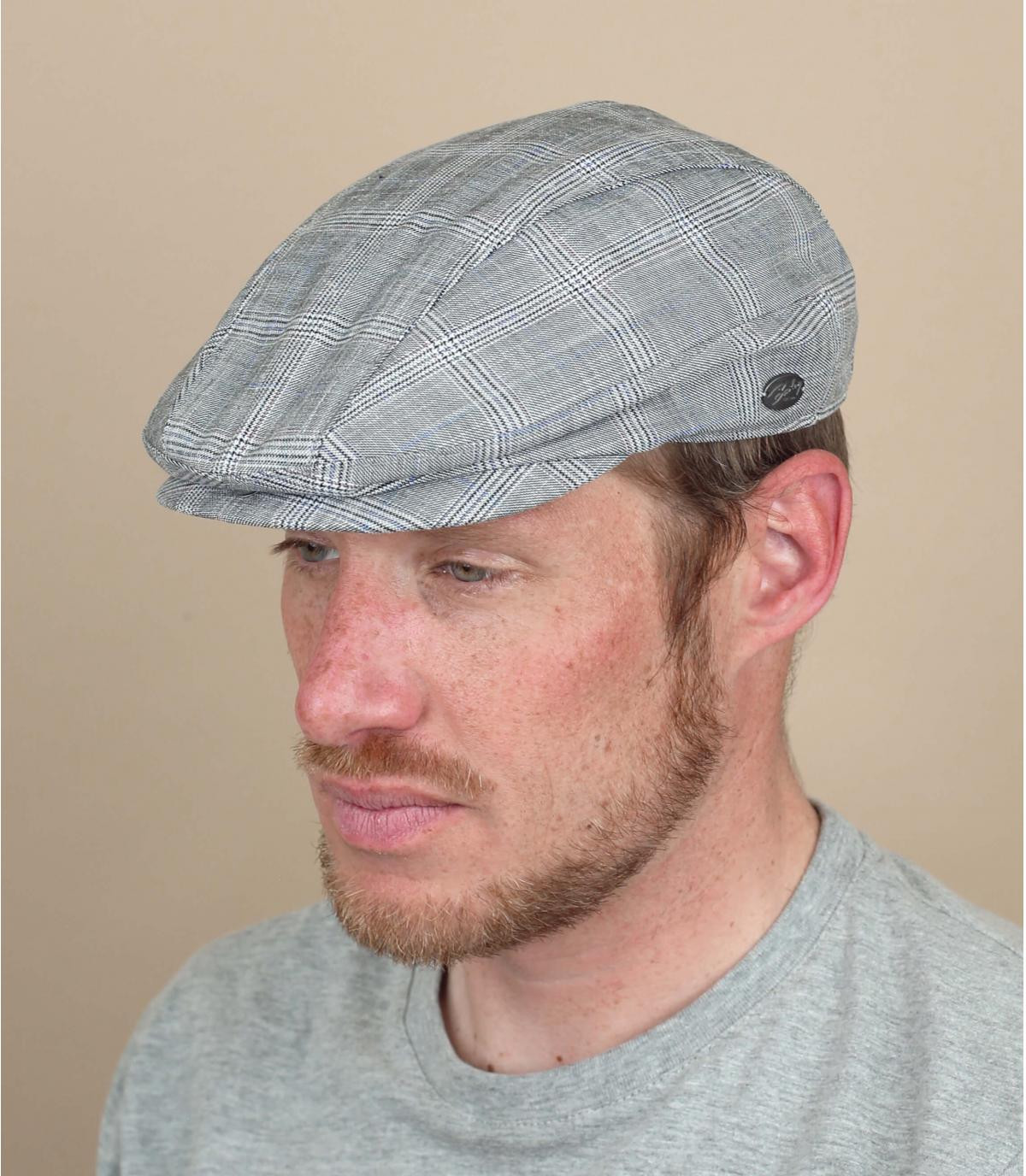 Bailey grey plaid cap