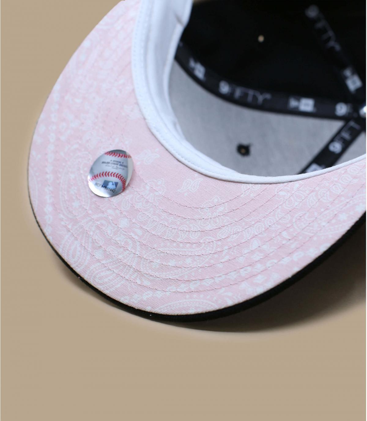 Détails Quickturn Paisley NY 950 black pink - image 5