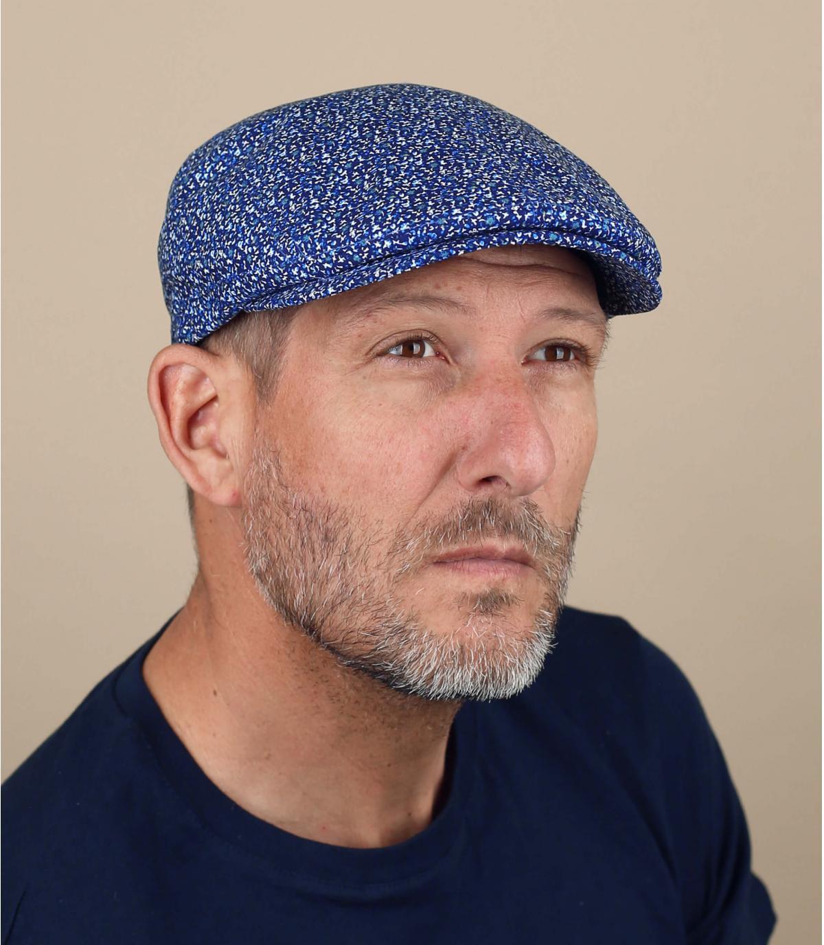 heather blue cap