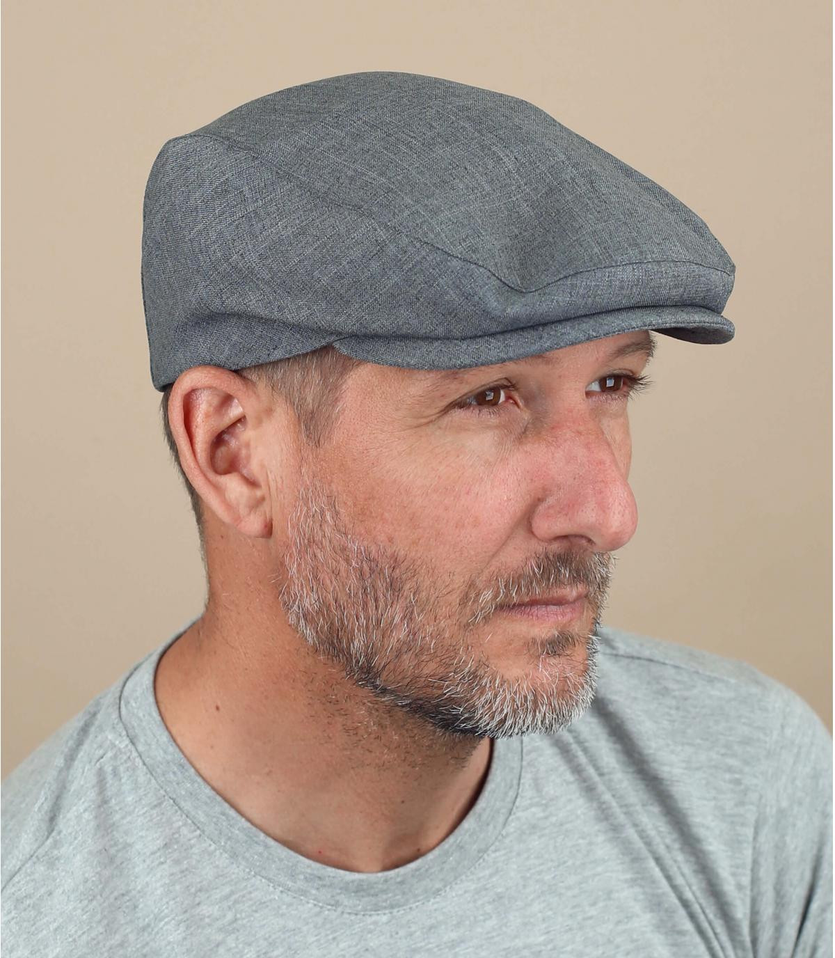 Grey flat cap Fiebig