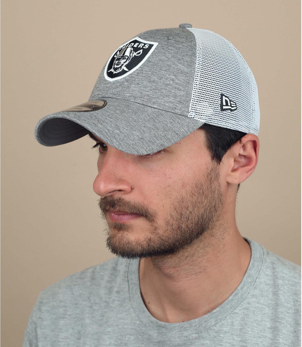 grey Raiders trucker