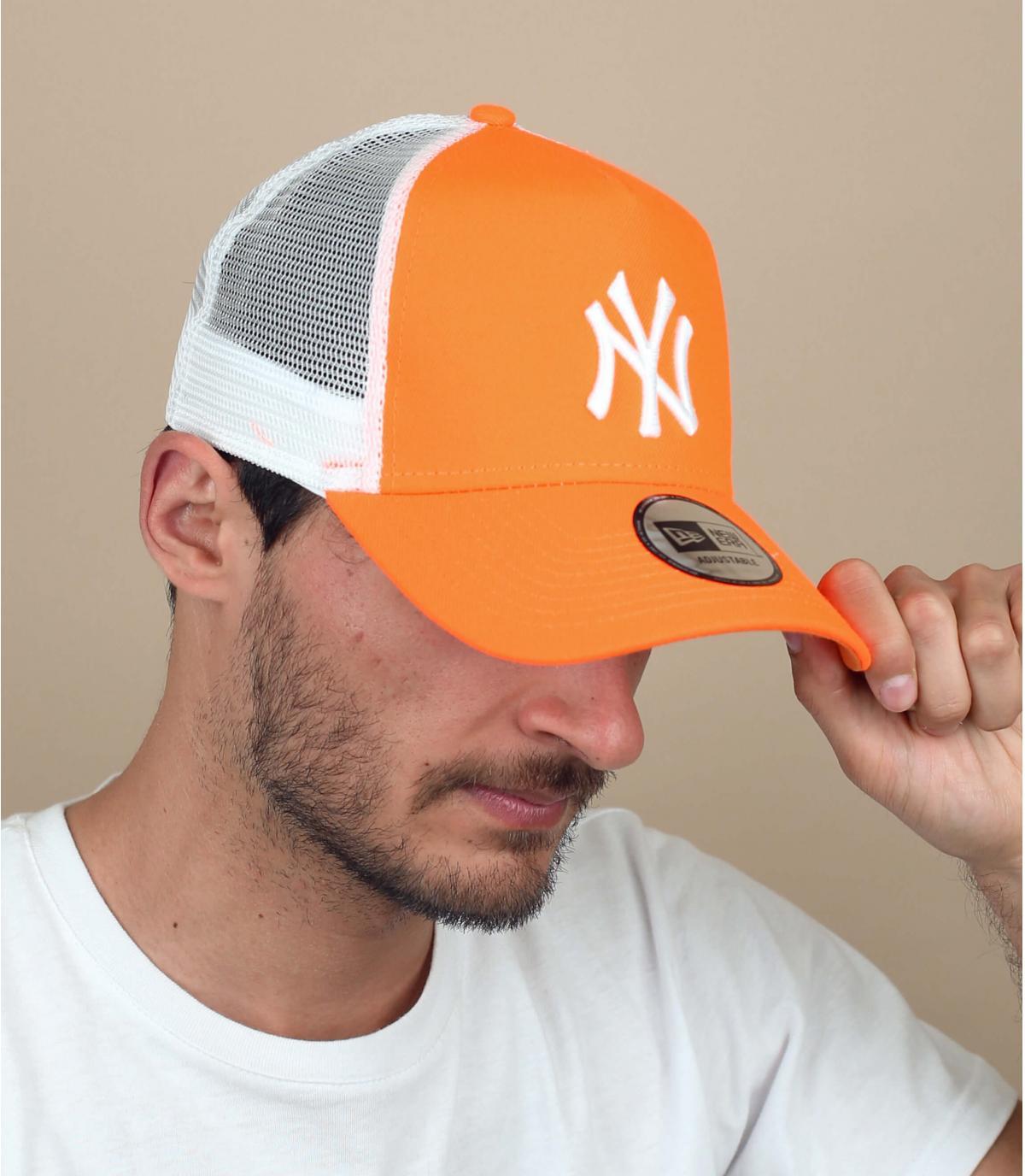 orange NY trucker