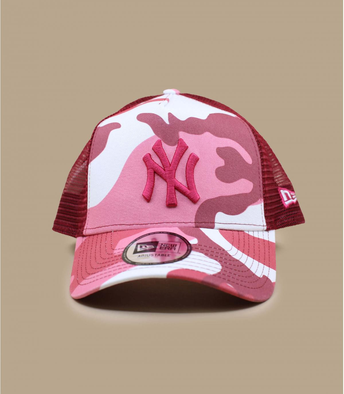 NY camo trucker pink