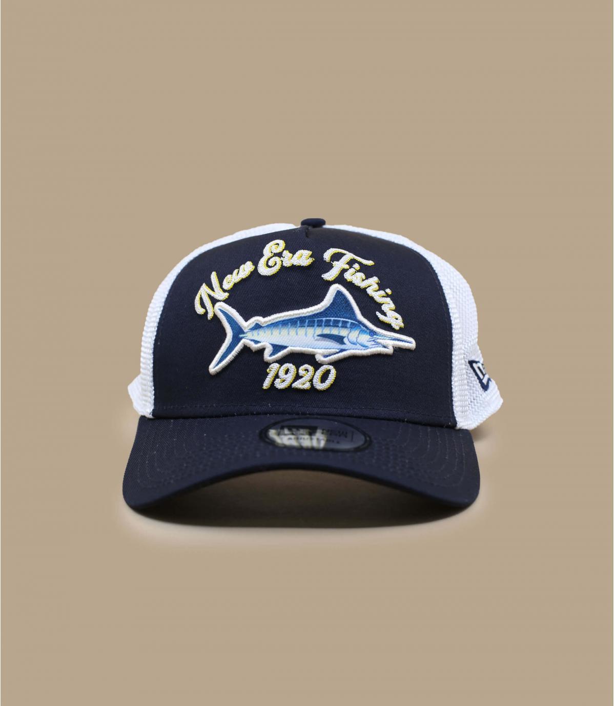 Blue swordfish trucker
