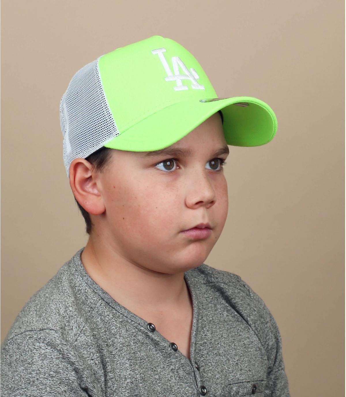 green kids LA trucker