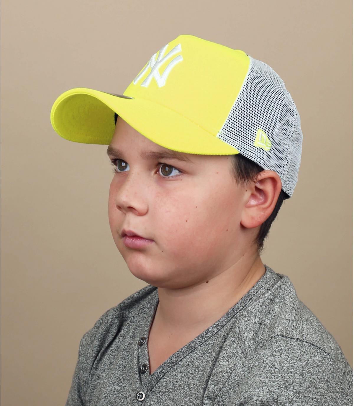 yellow NY trucker children