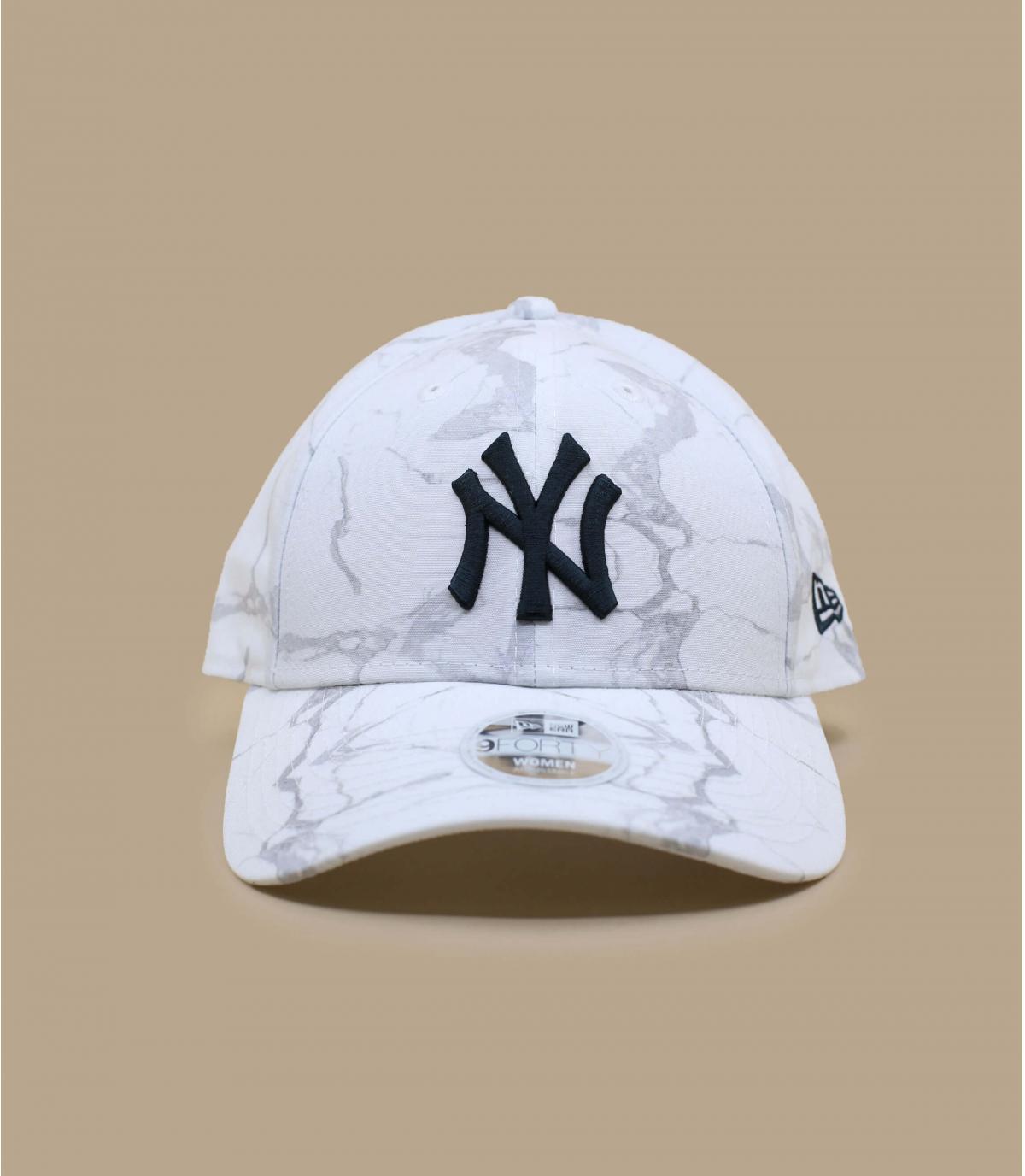 women NY cap white