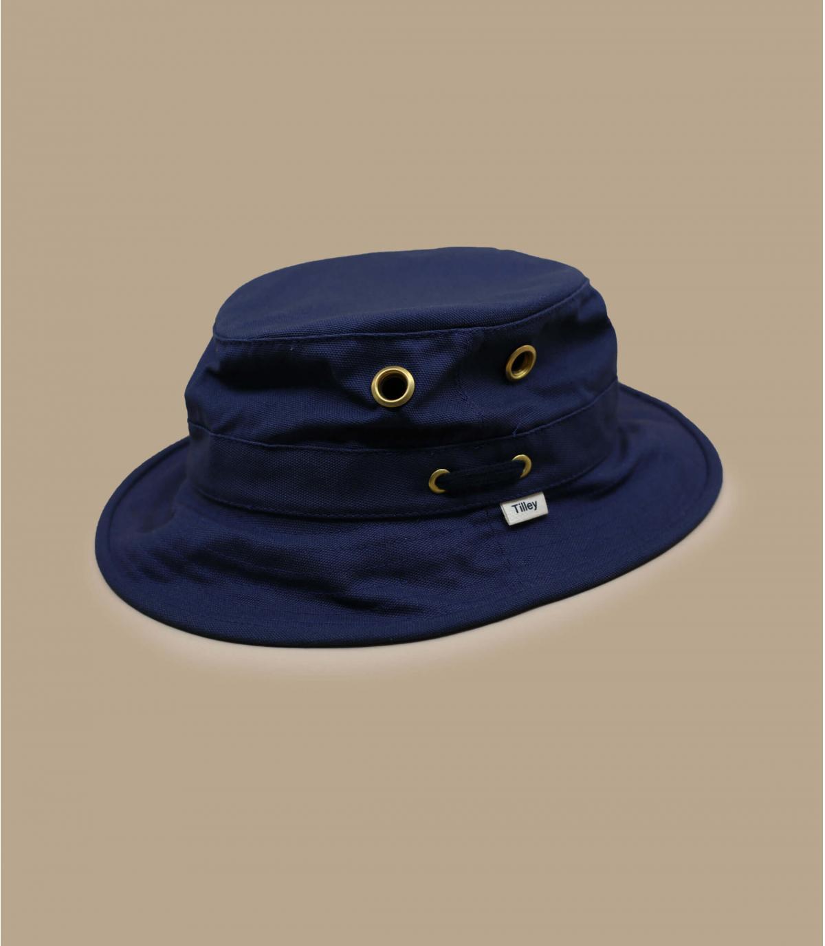 Navy blue bucket hat TilleyT1