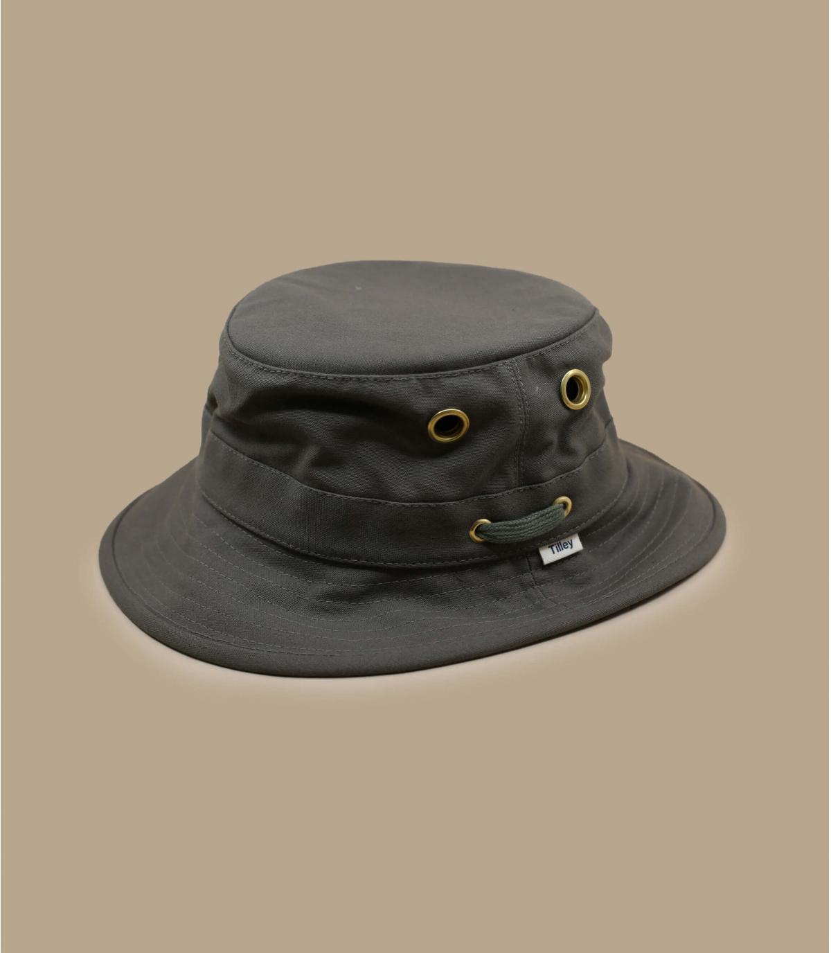Green TilleyT1 bucket hat