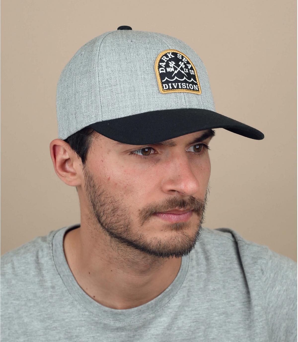 Grey Dark Seas cap
