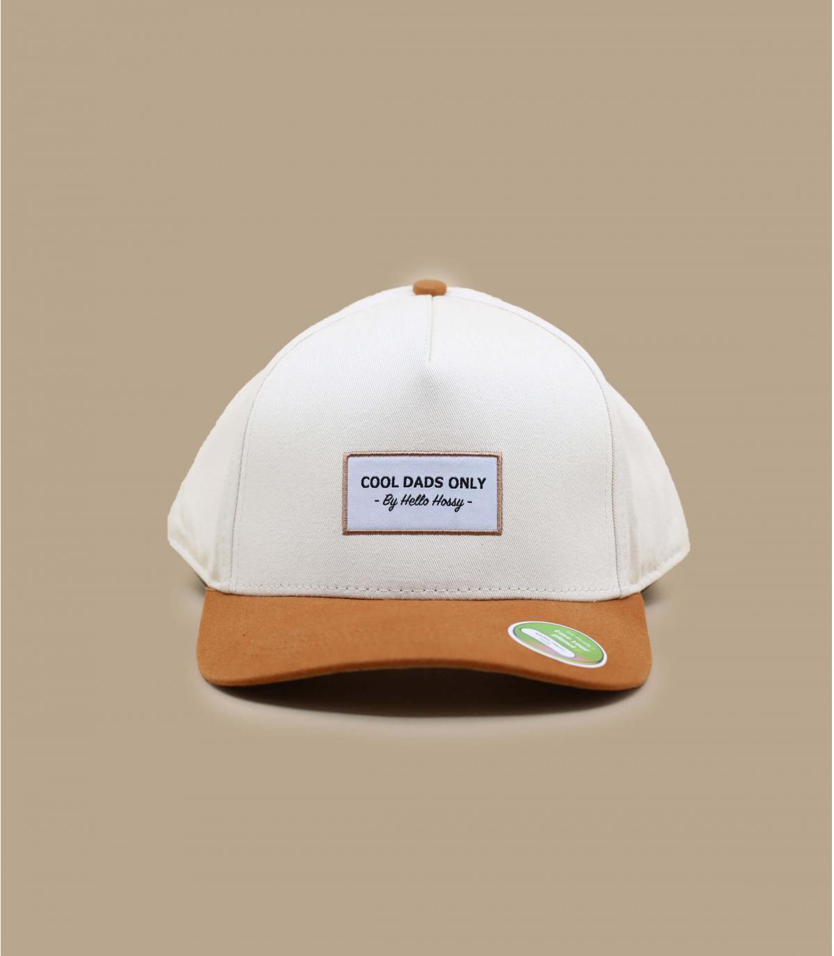 Beige adult cap Hello Hossy