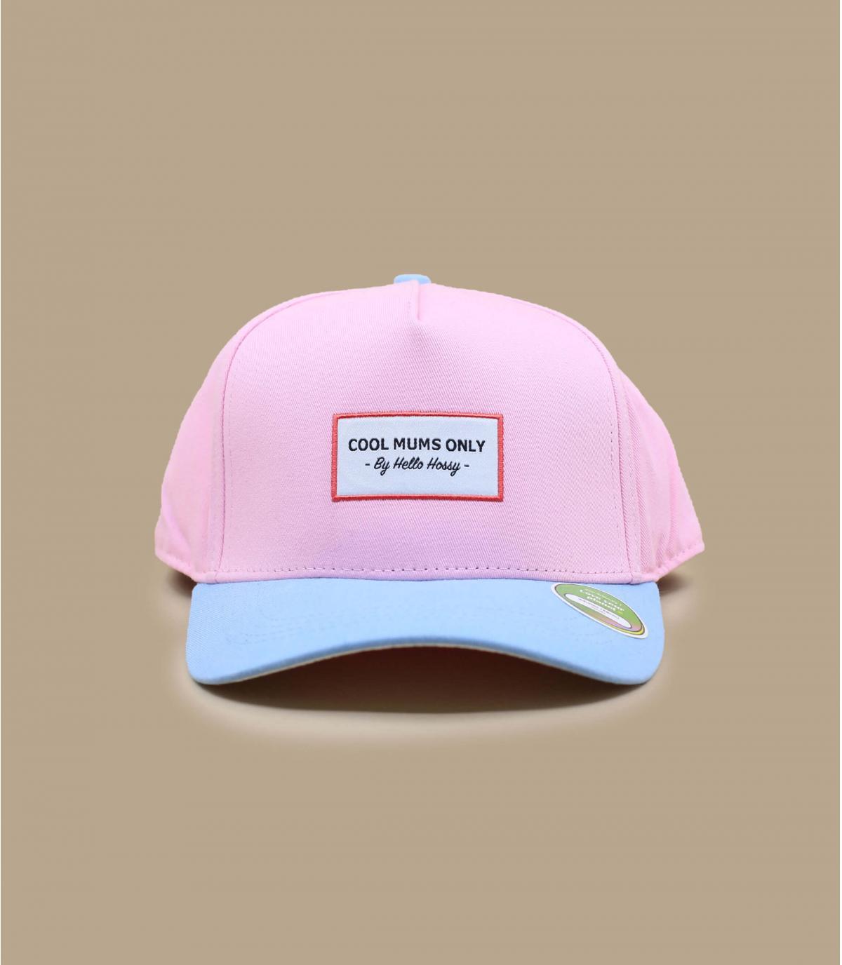 pink adult cap Hello Hossy