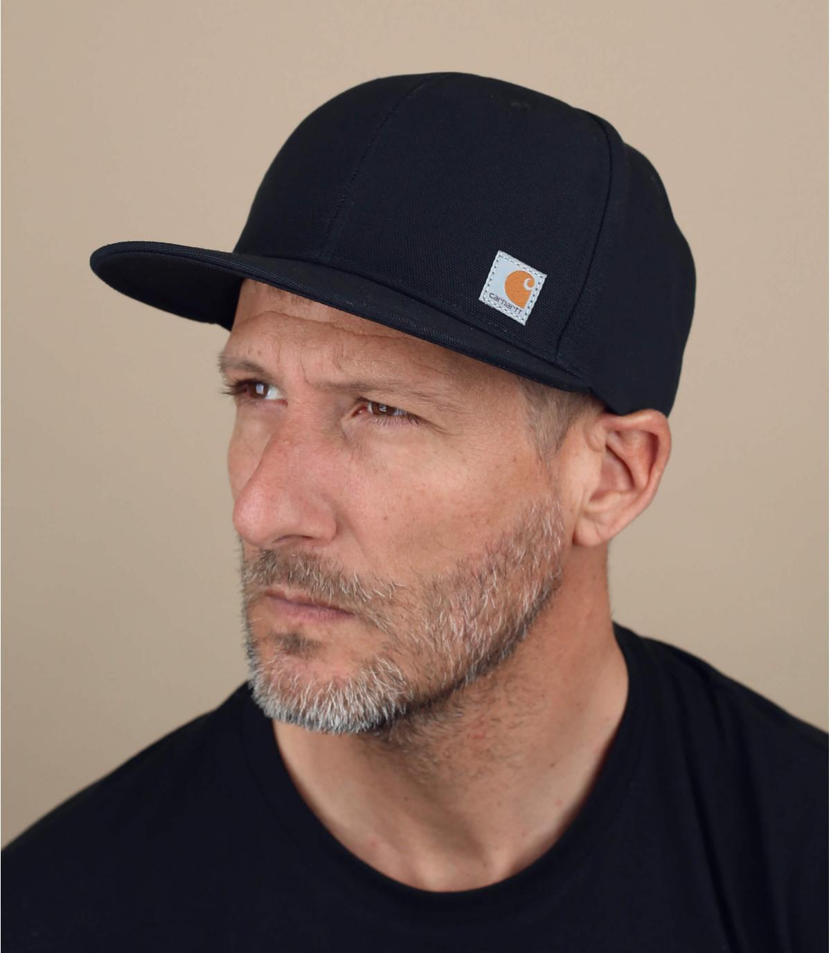 black Carhartt cap