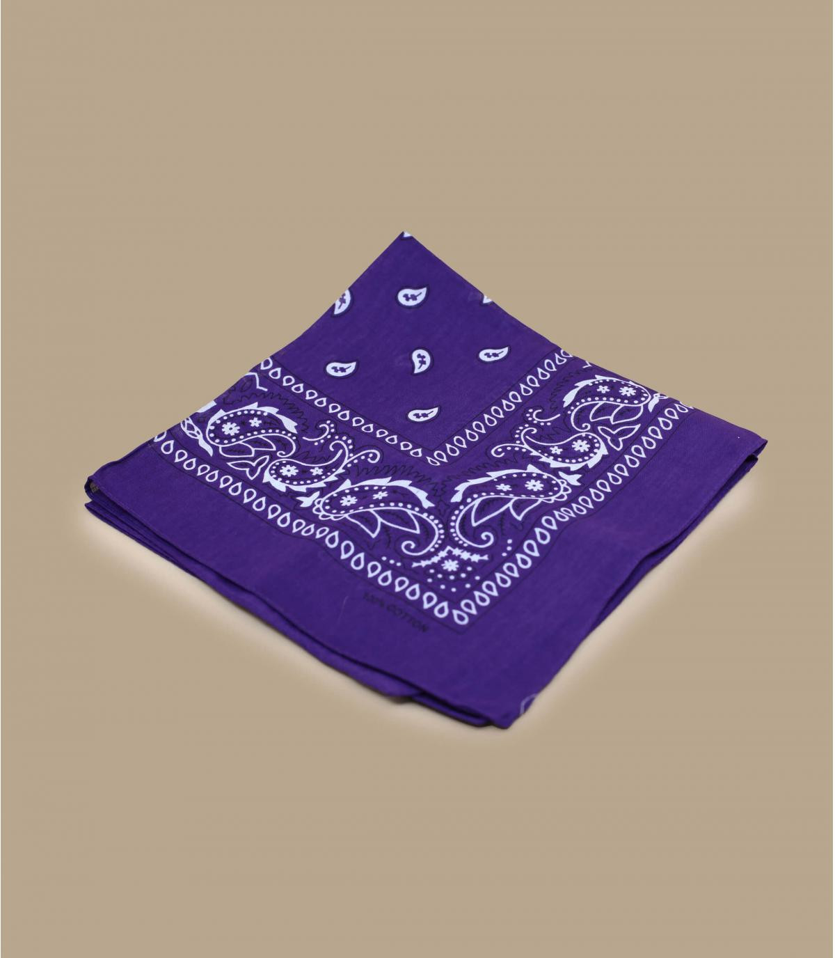 Purple bandana