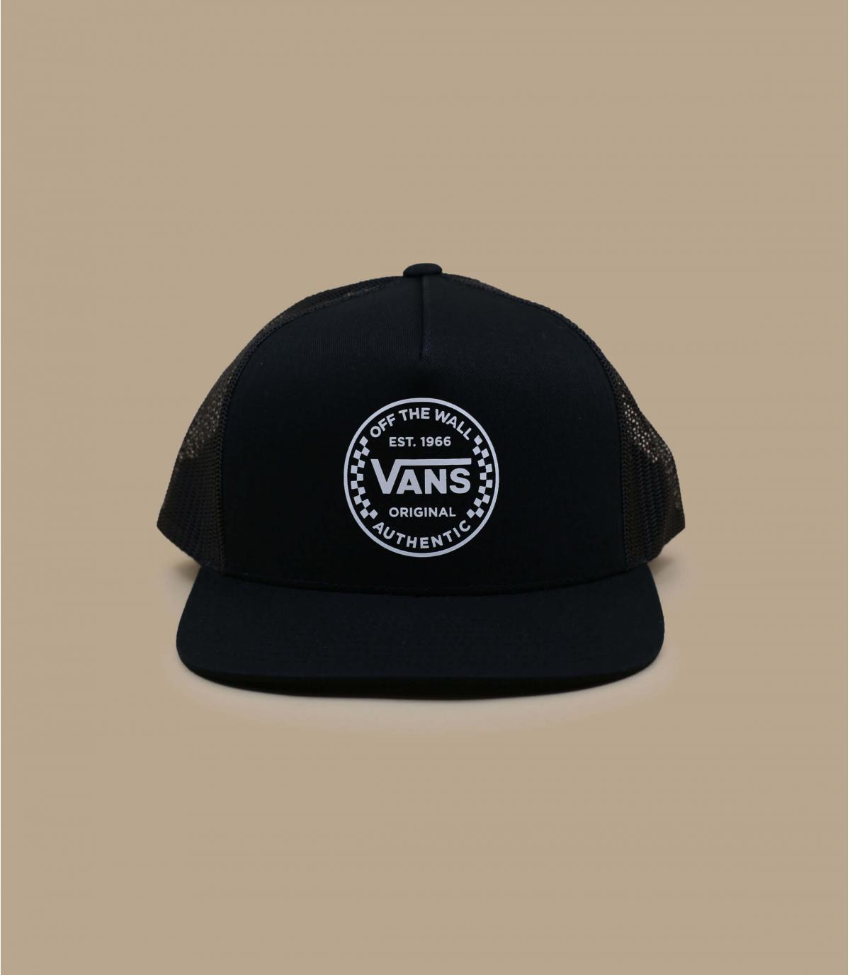 Vans black trucker cap
