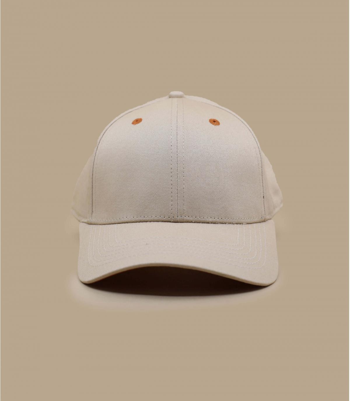 Beige adult Malotru hat
