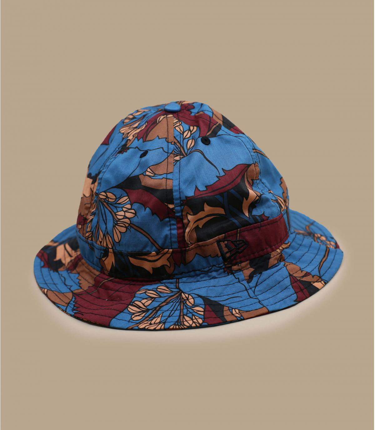 New Era flower bucket hat.
