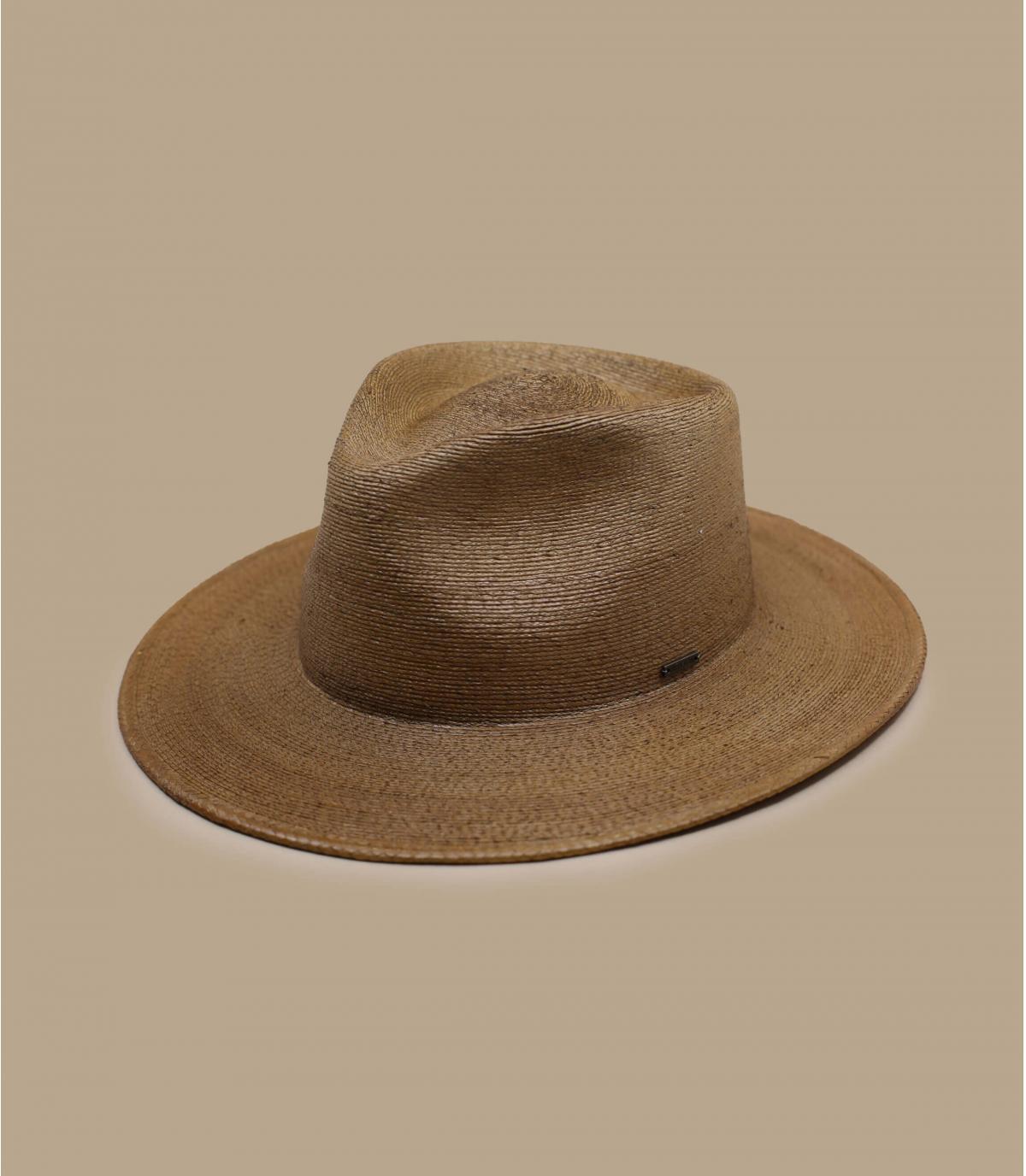 Brown straw hat Brixton