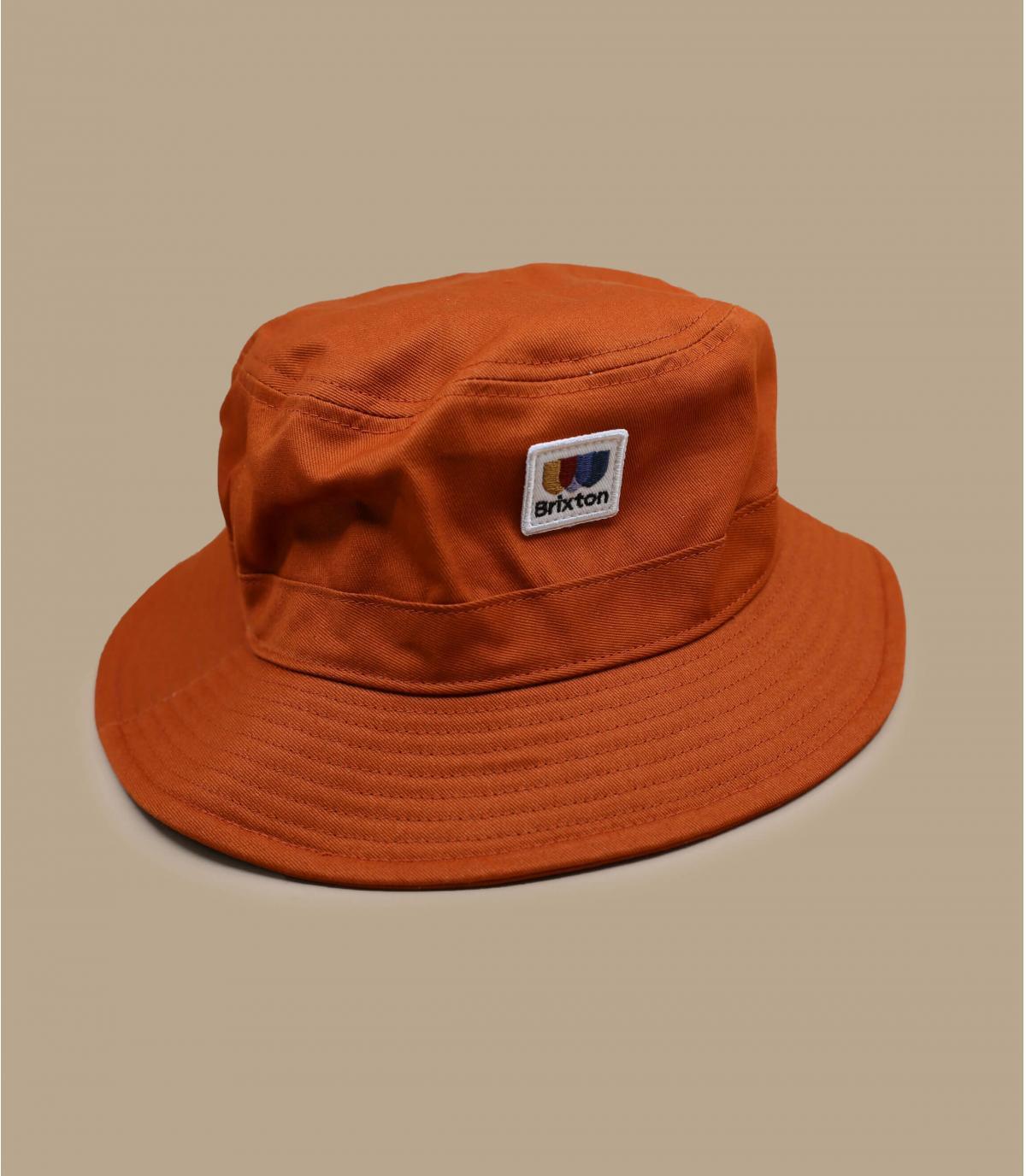 orange bucket hat Brixton