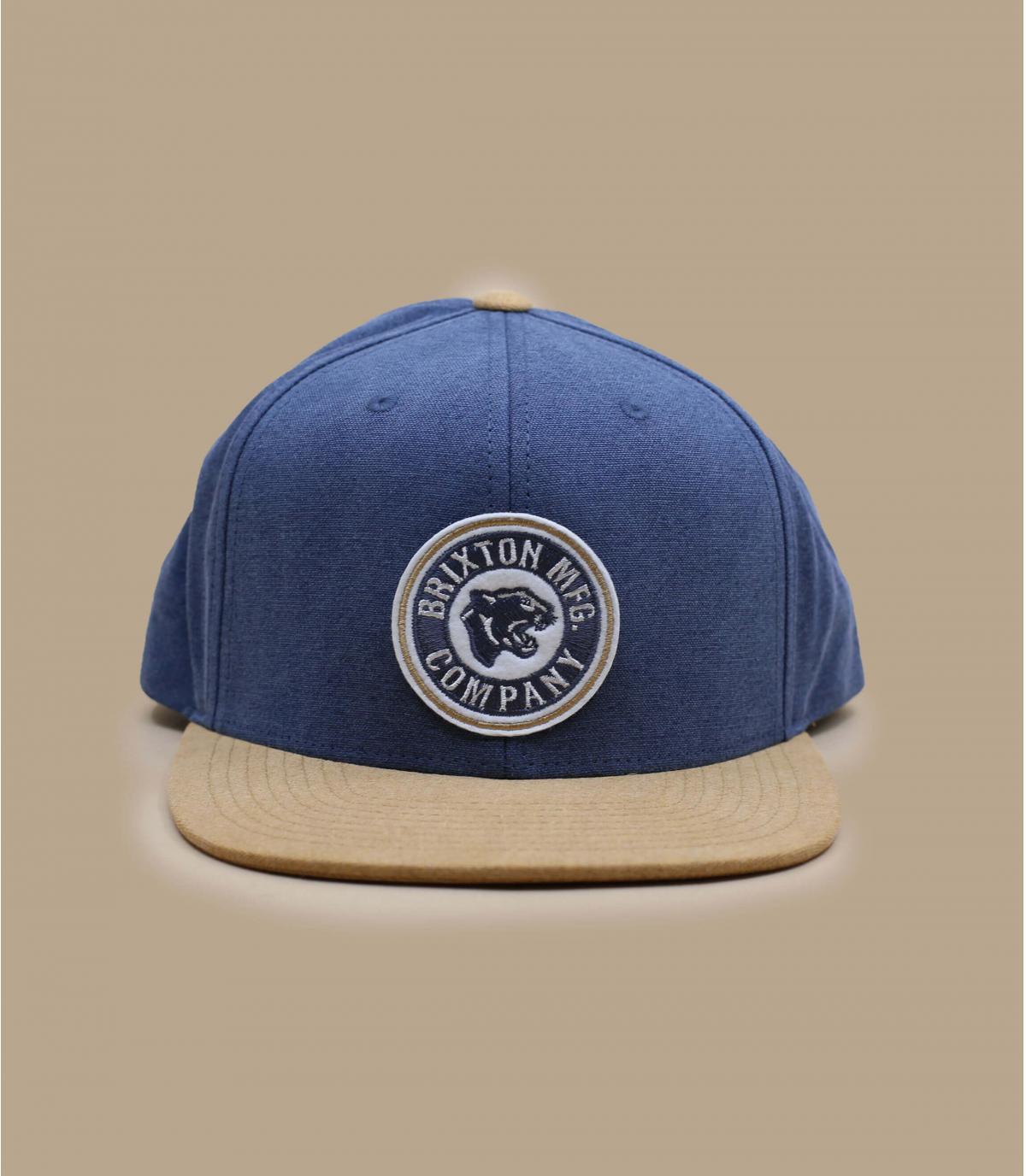blue beige Brixton cap