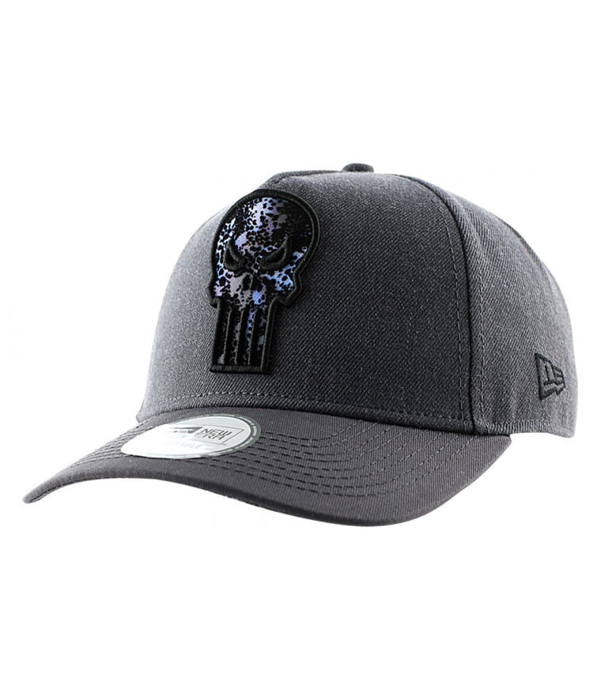 ... Grey Punisher curved cap - Character digi a frame punisher New Era -  image 3 ... 9bd9cb0e1d7