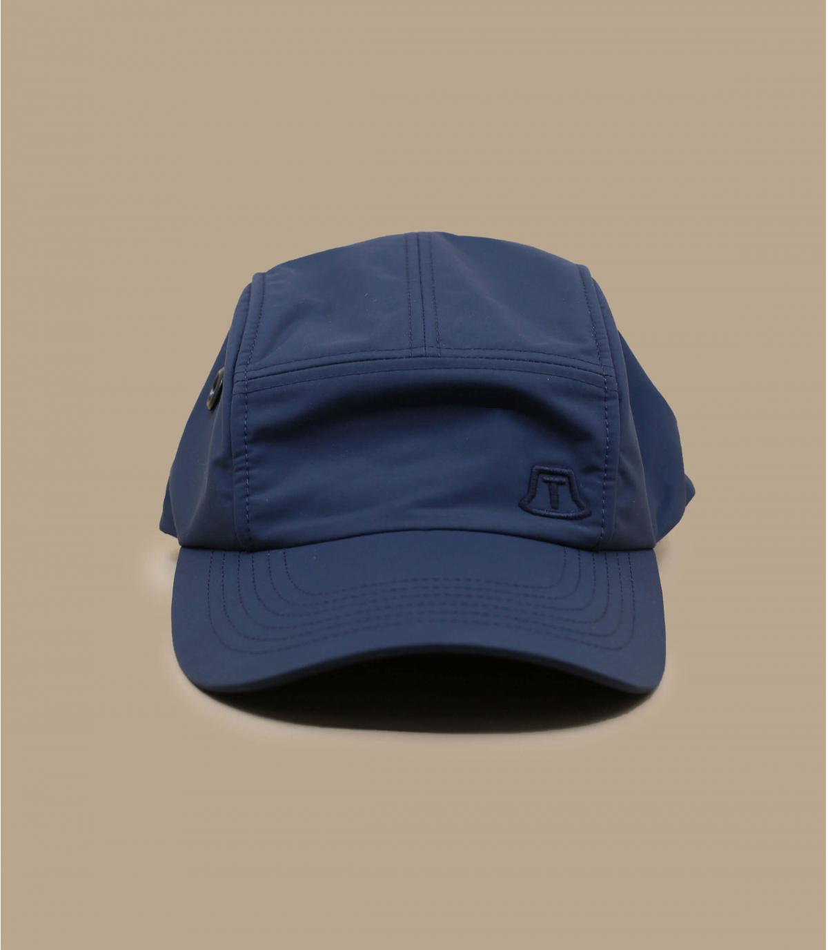 blue 5 panel cap Tilley