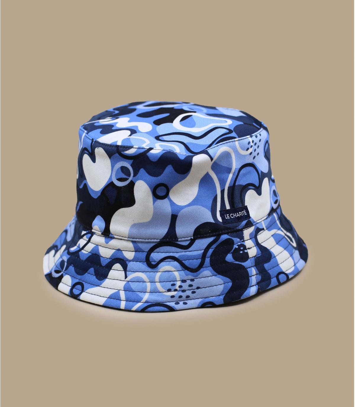 Le Chapoté blue bucket hat