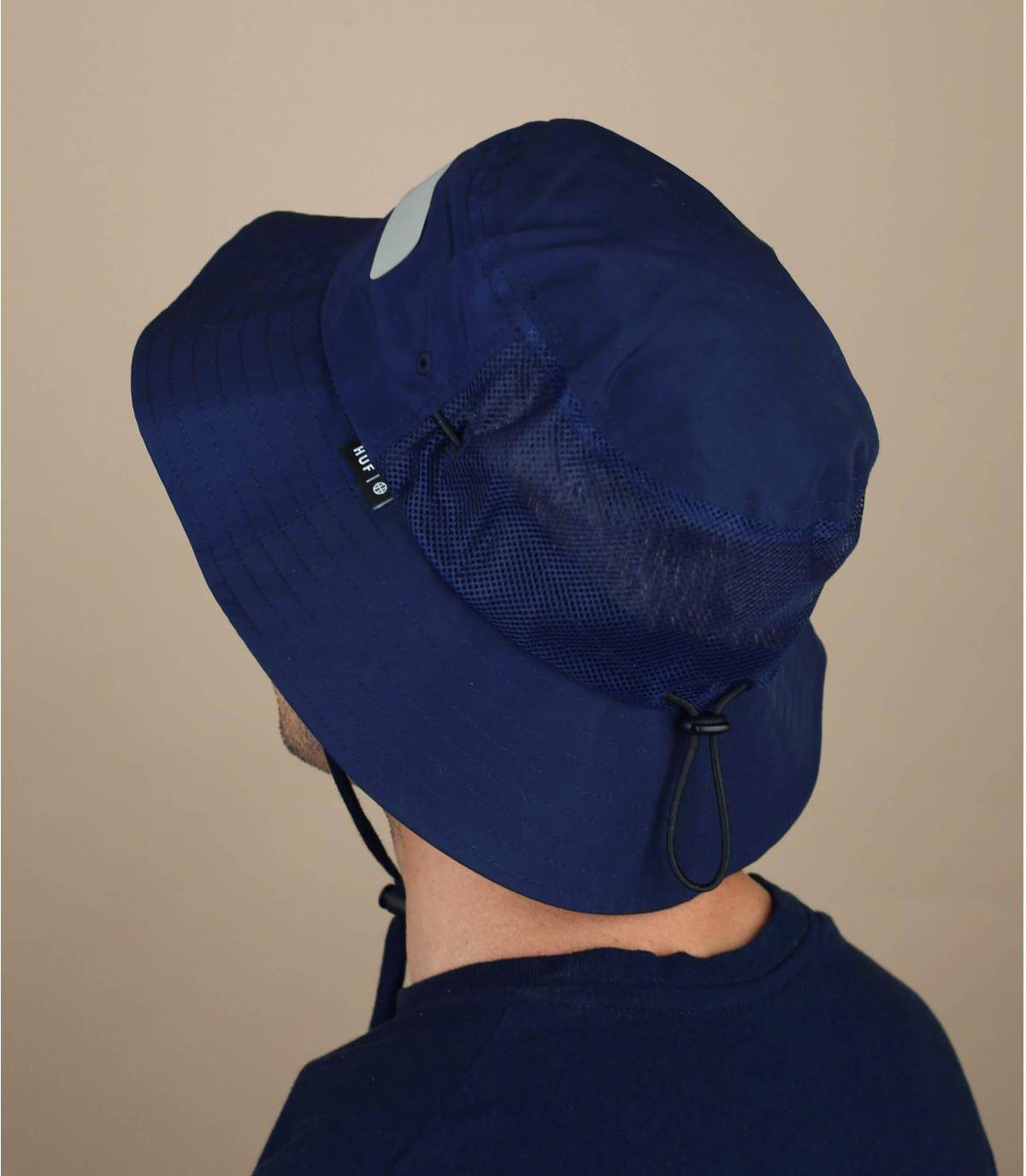 navy blue Huf bucket hat