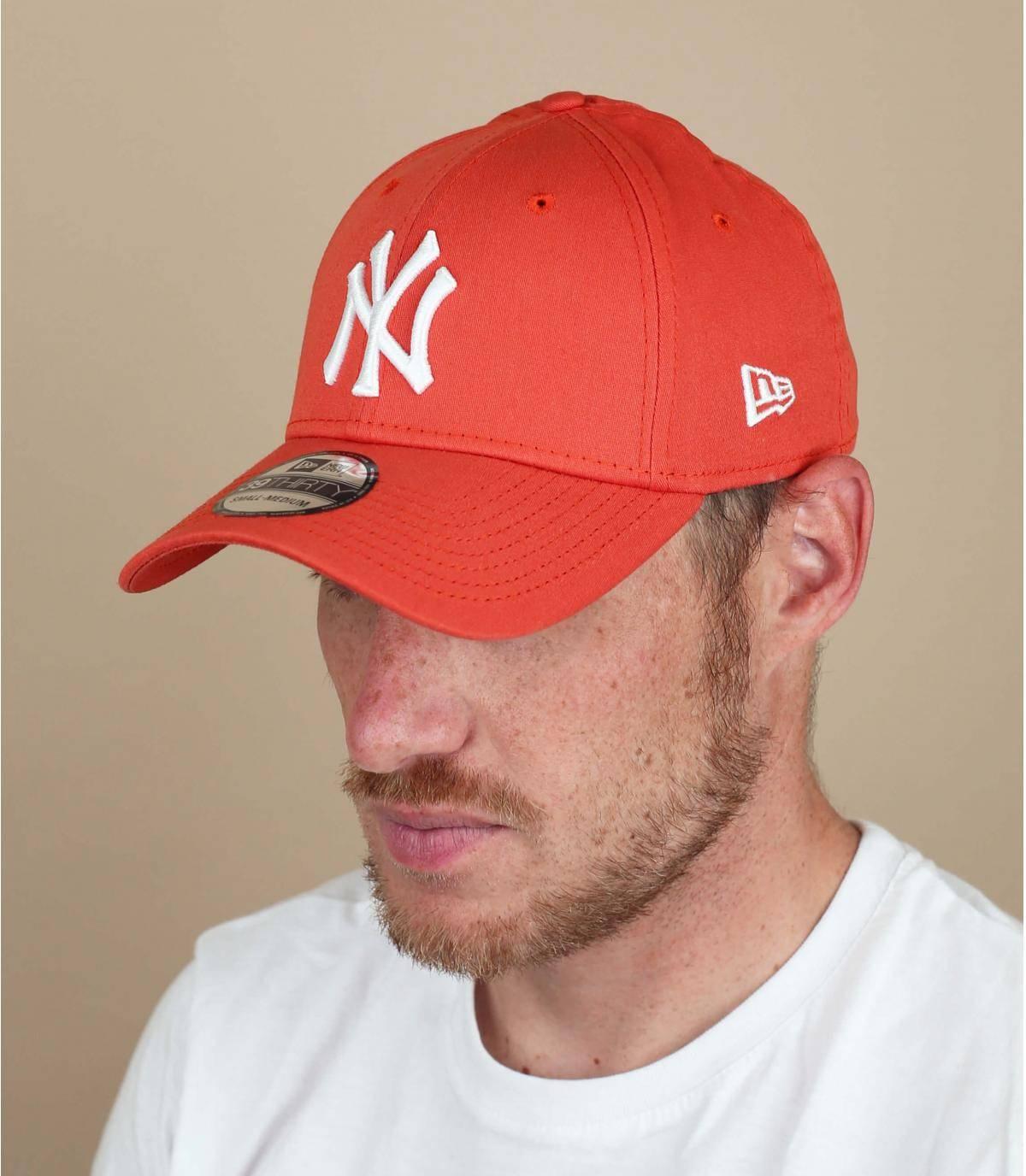 red NY cap