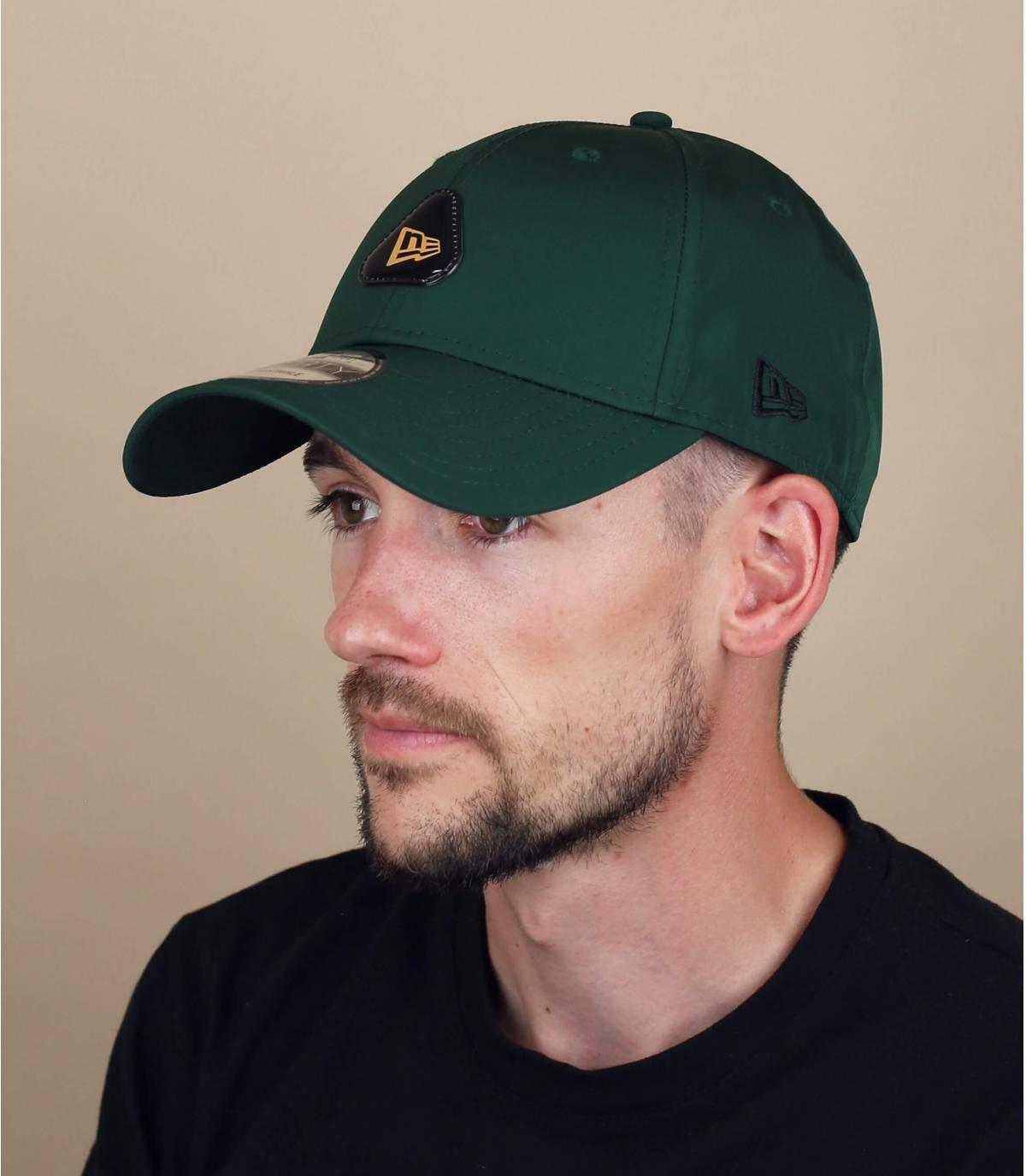 Green New Era cap