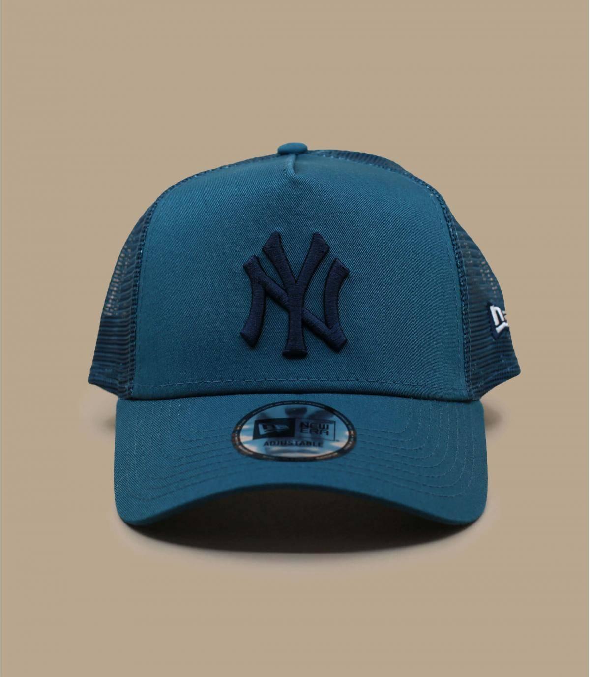 blue NY trucker