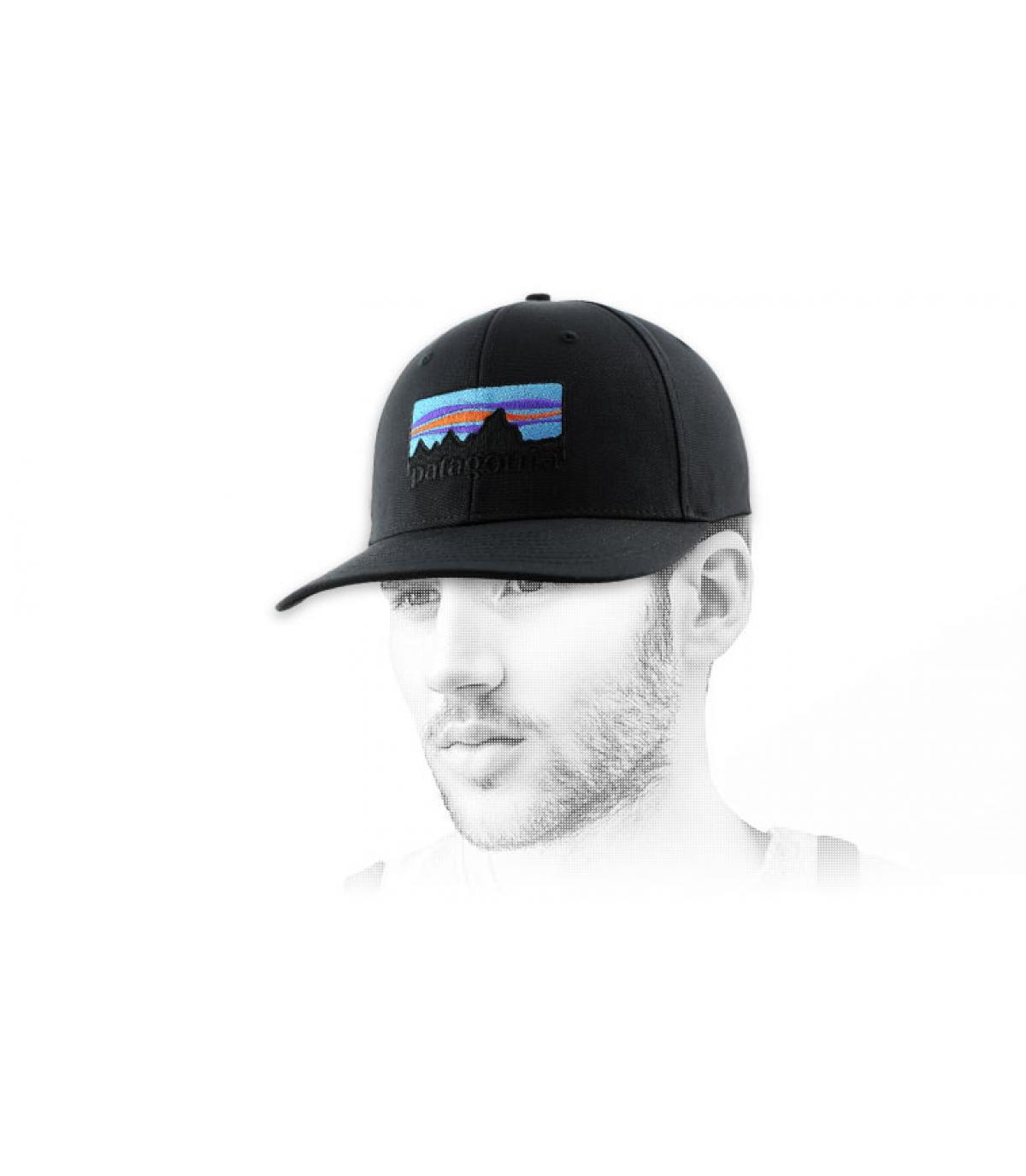 Patagonia black cap