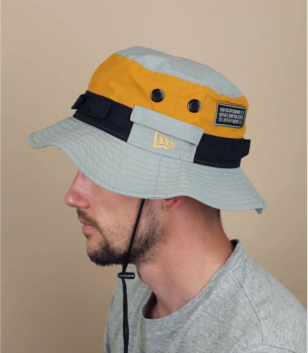 New Era bucket hat grey