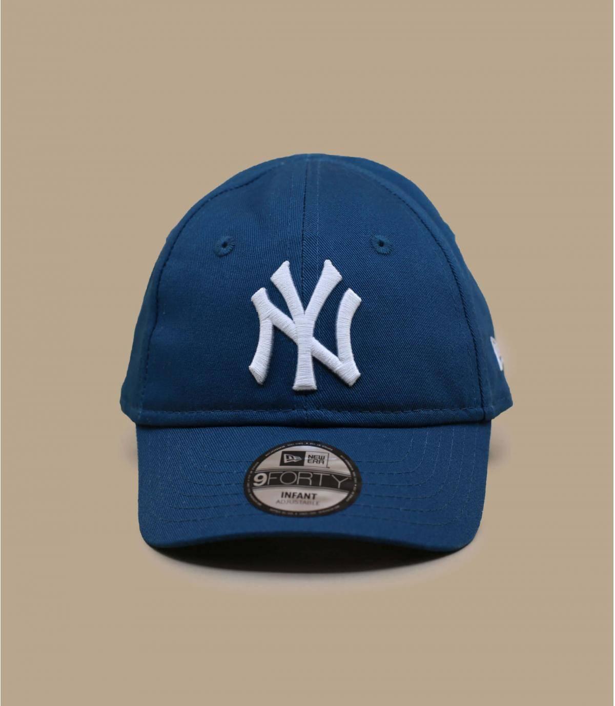 blue baby cap NY