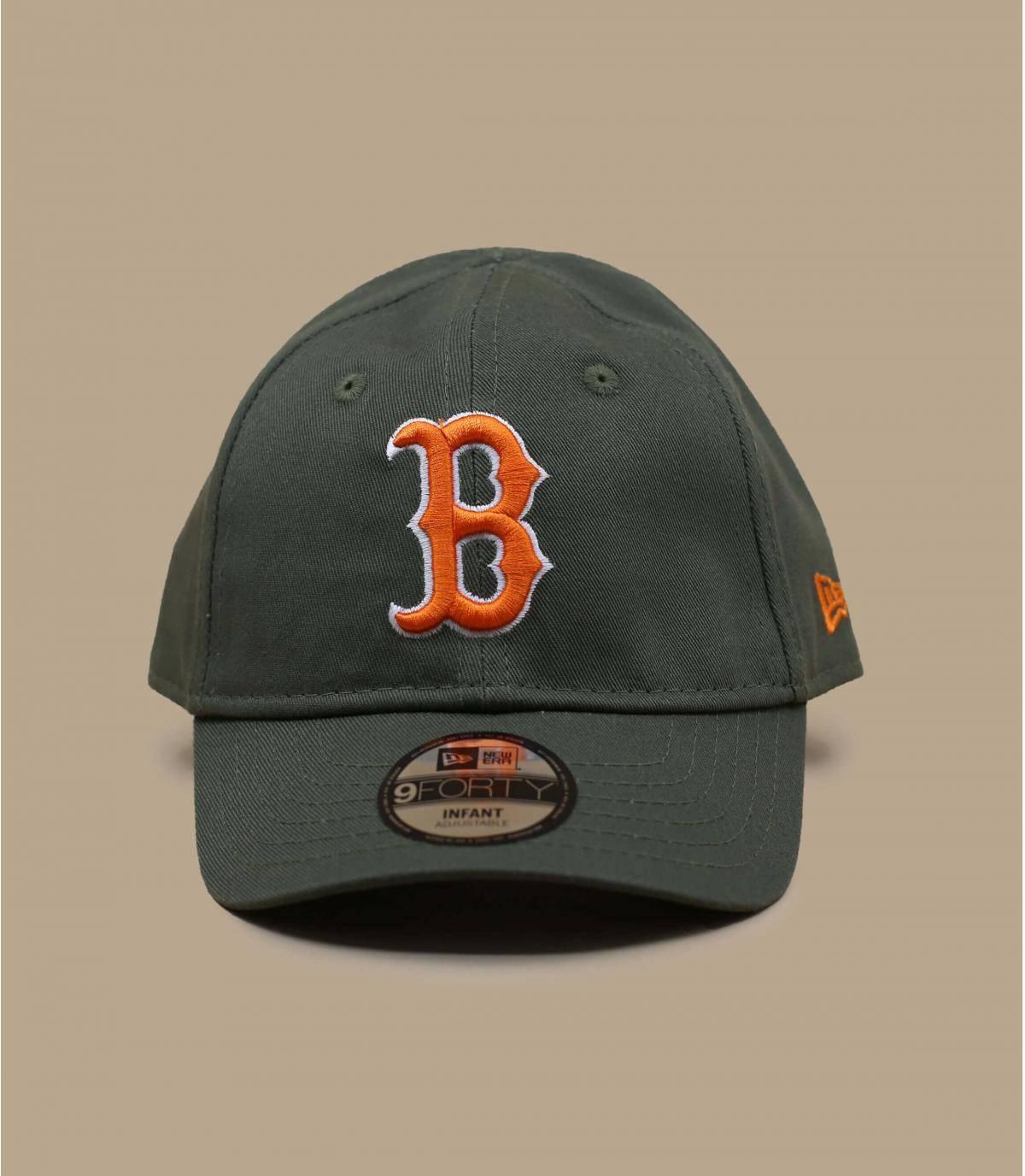 green baby cap B