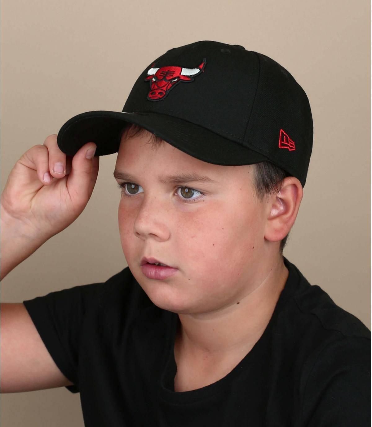 Bulls kid cap