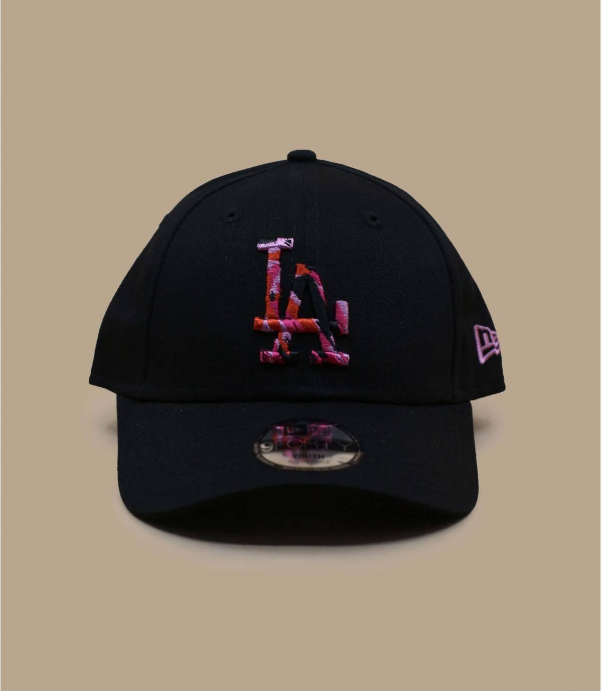 black LA child cap