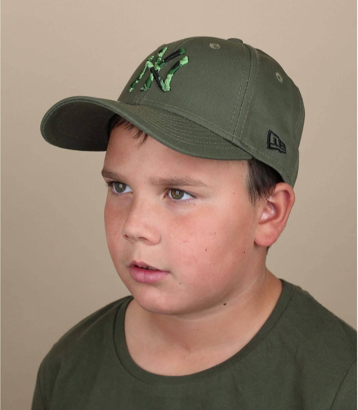 green kids NY cap
