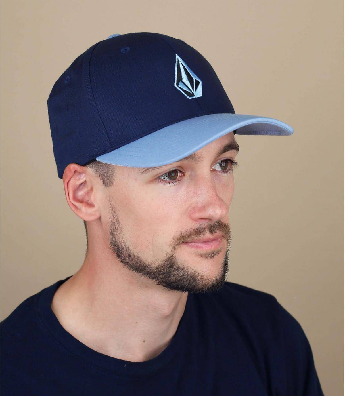 blue Volcom cap