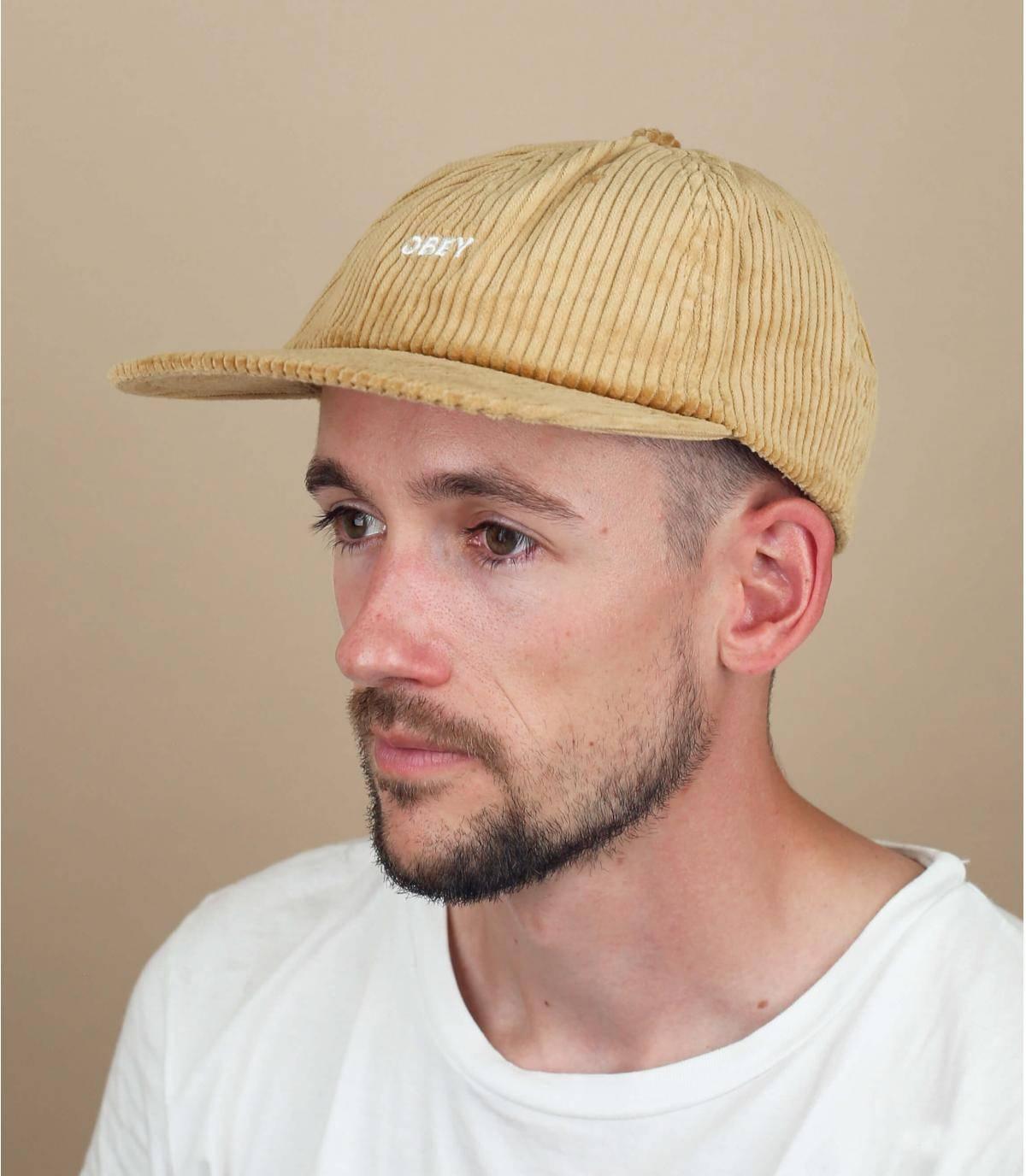 Obey corduroy cap